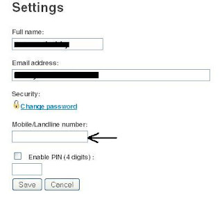 Spokn-Internet-telephony-settings-page-options-full-name-email-address-mobile-landline-number