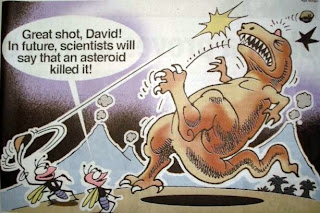 dinosaur extinction, TOI photo