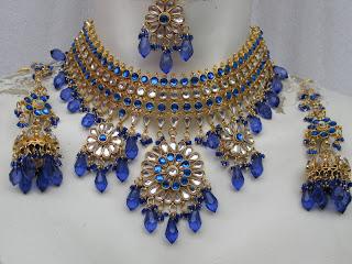 indiadark blue set