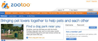 zootoo pet social network