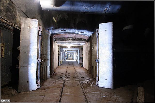 Bunker Tunnel System Map: Abandoned Secret Underground Submarine Base, Balaklava