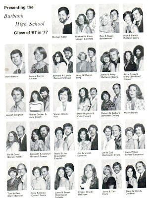 Burbank High School Burbank, California Class of 1967: Ten