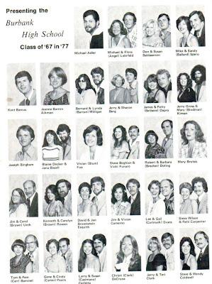 Burbank High School Burbank, California Class of 1967: Ten