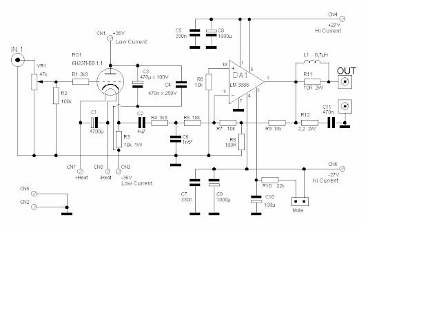 1.000.000 de Circuitos Eletrônicos Audio: hybrid LM3886