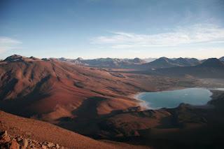 Vulkan Licancabur (Bolivien)
