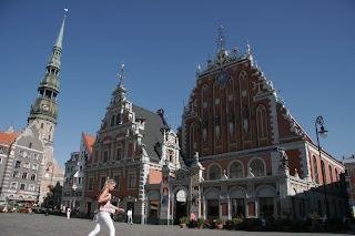 Wunderschöne Altstadt von Riga