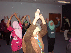 Dramatherapy Workshop for Speech & Occupational Therapists at a hospital in Malaysia, August 2009