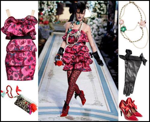 vestito a fiori Lanvin for H&M