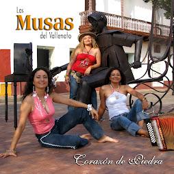 """OCTAVA PRODUCCION DE LAS MUSAS DEL VALLENATO TITULADA """"CORAZON DE PIEDRA"""""""