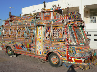 Bus from Pakistan