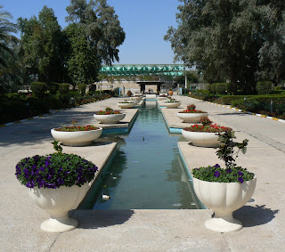 Landscaping in Doha zoo