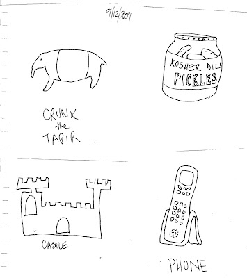 Daily Draw: Scavenger Hunt Clues for My Daughter