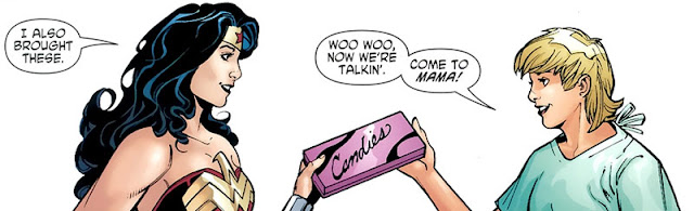Wonder Woman #40: Etta Candy