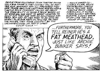 Harvey Pekar tells Rob Reiner off, but not to his face.
