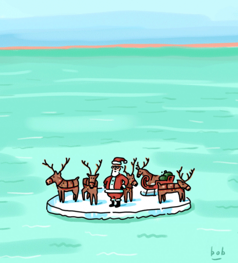 Even Santa had a tough year