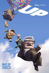 Up movie poster from Pixar Animation Studios