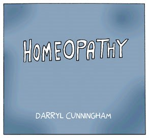Homeopathy by Darryl Cunningham.
