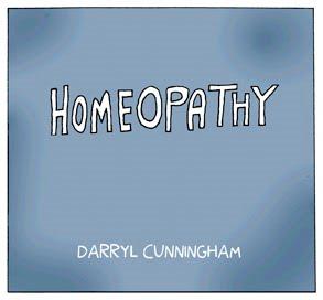 Homeopathy by Darryl Cunningham.