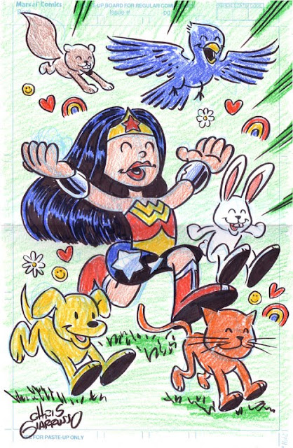 Wonder Woman by Chris Giarrusso.