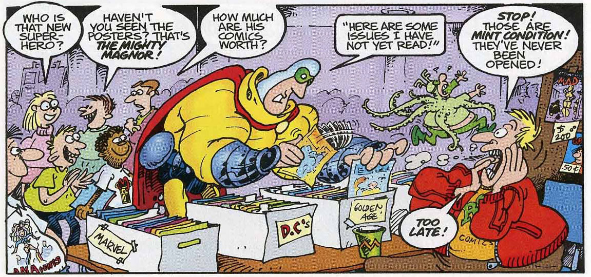 The Mighty Magnor by Sergio Aragonés, Mark Evanier, Tom Luth, Stan Sakai.