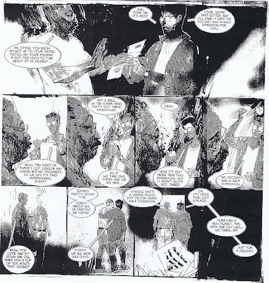 Big Numbers #3 by Alan Moore and Bill Sienkiewicz