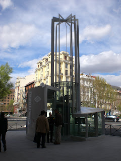 A View Of Madrid Madrid Metro Museum At Chamberi