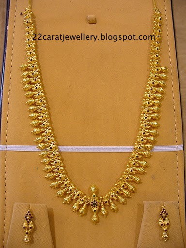 22 Carat Indian Traditional Jewellery Nakshi Jewellery