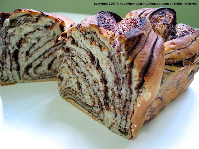 Happy Home Baking Chocolate Marble Bread