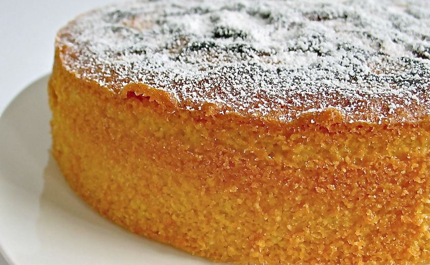 Ground Almond Sponge Cake Recipe