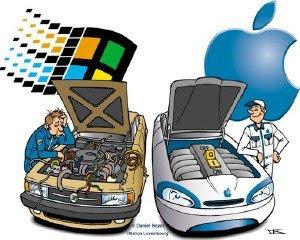 Wins vs Mac OS X