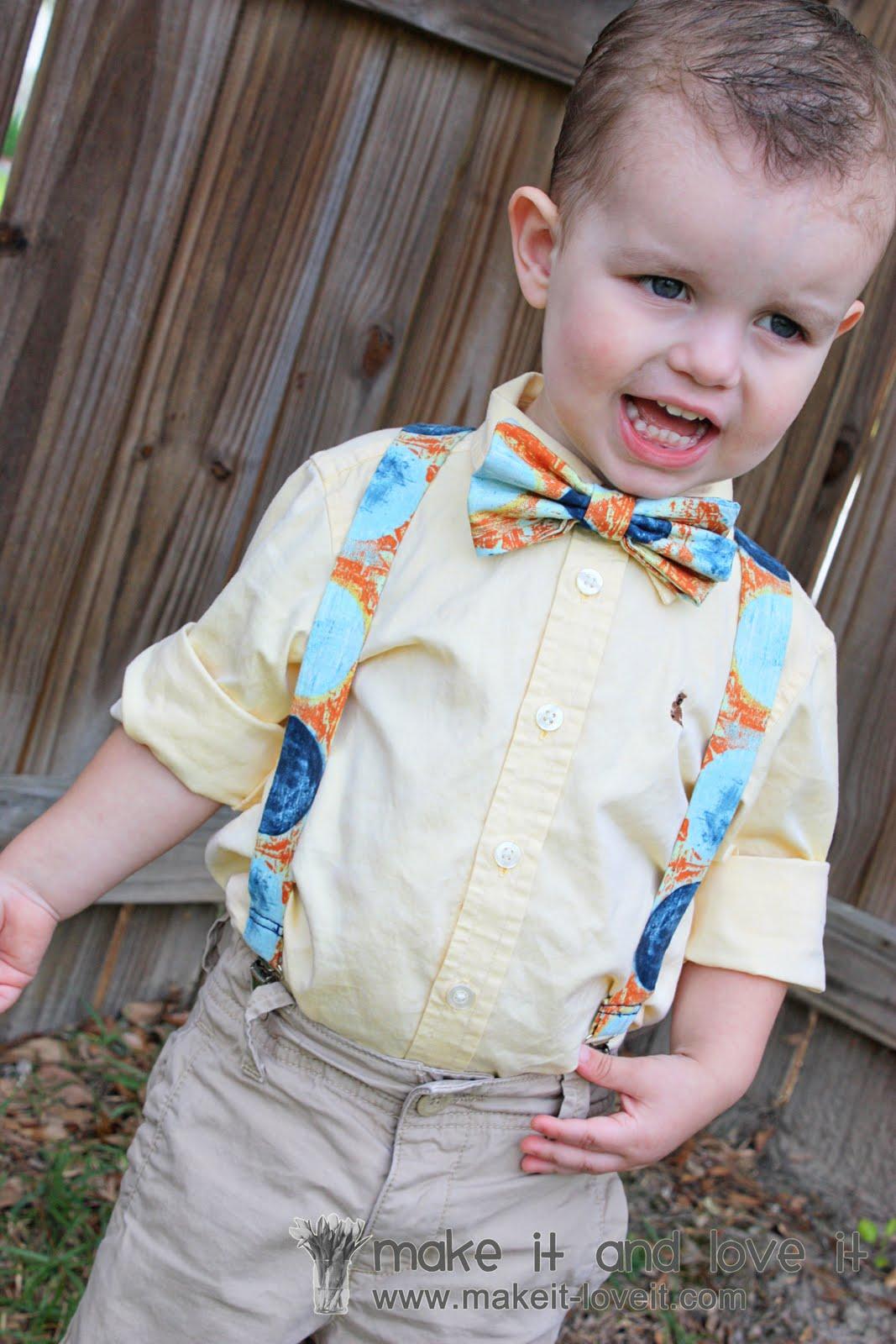 Little Boy Suspenders   Make It and Love It