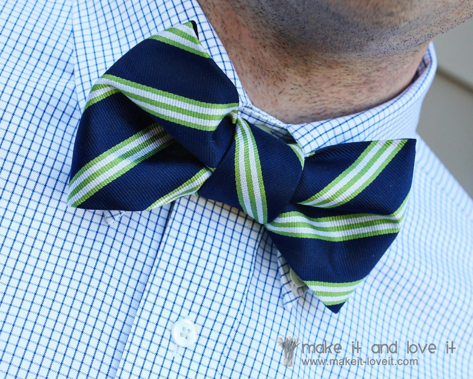 Repurposing: Neck Tie into Bow Tie | Make It and Love It