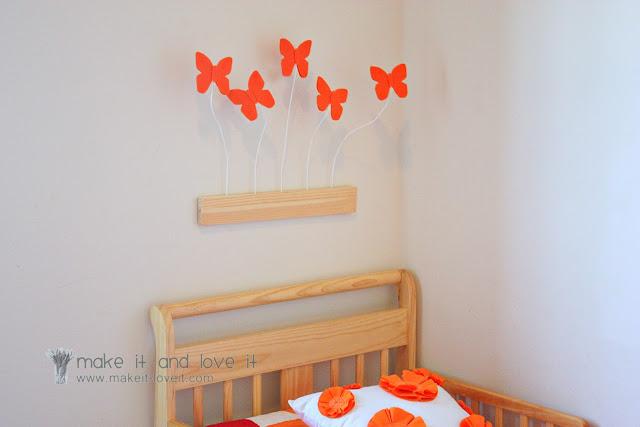DIY papillons décoratifs en 3D