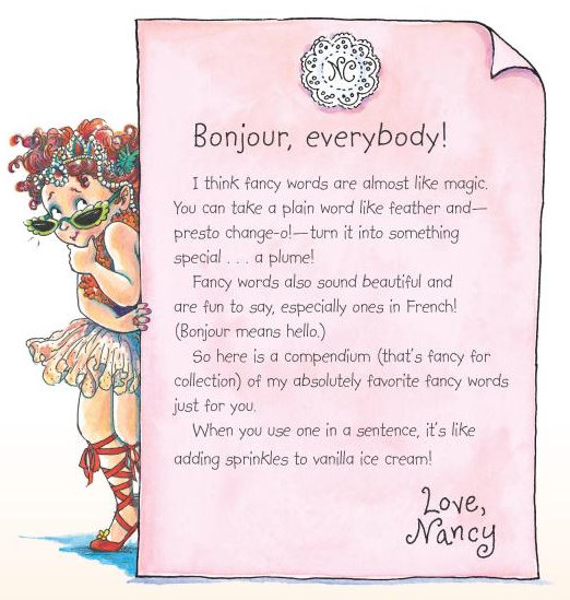 Fabulous Fancy Nancy - Little Girl Gift Idea   Make It and Love It YY53