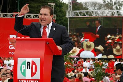 Javier Duarte, Gobernador Priista