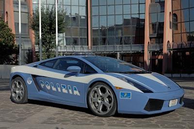 Lamborghini Gallardo Italian Police Car.