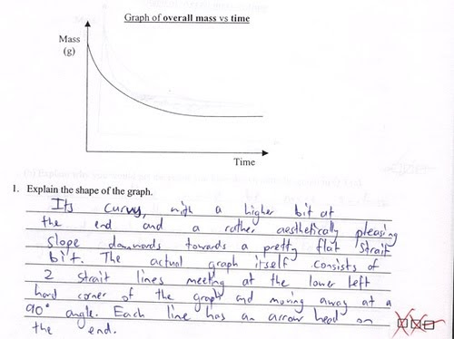 Funny Exam Answers Sheets 01