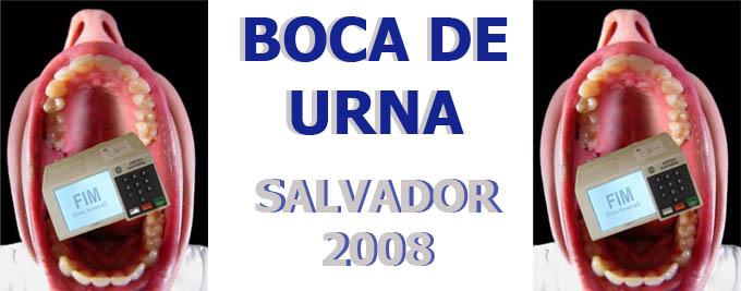 Boca-de-urna Salvador 2008