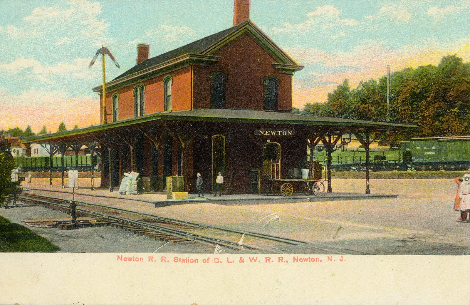 The National Railroad Postcard Museum: Newton, New Jersey