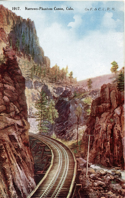 Most Likely To Questions >> The National Railroad Postcard Museum: Florence & Cripple Creek Railroad