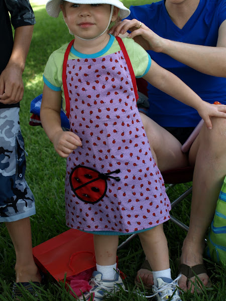 Bug's new apron