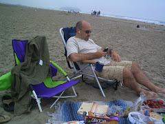 Wayne-Relaxing at the Beach