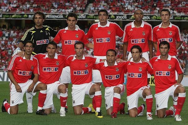 Equipa do Benfica