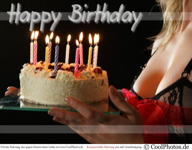 sexy girl happy birthday images