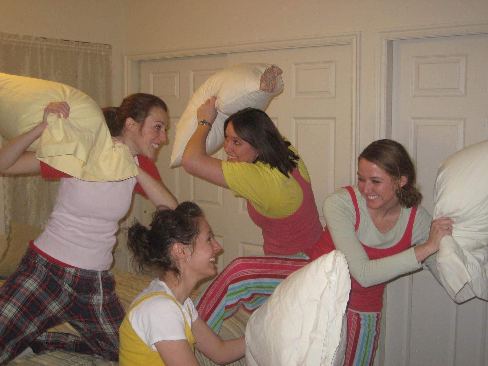 Allison S Blog Pillow Fight