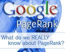 Google Page Rank What Do We Know