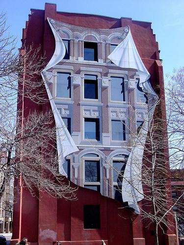 Optical Illusions Etc: Flatiron Building Optical Illusion