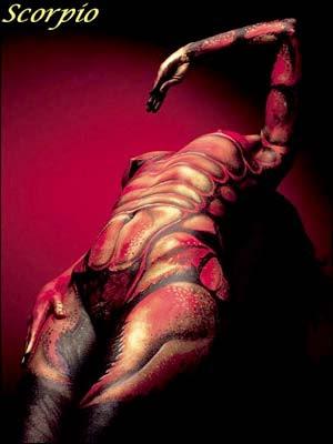 Zodiac Illusion Art - Scorpio