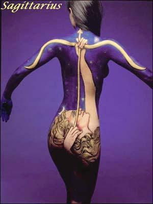 Zodiac Illusion Art - Sagittarius