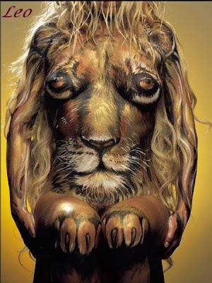 Zodiac Illusion Art - Leo